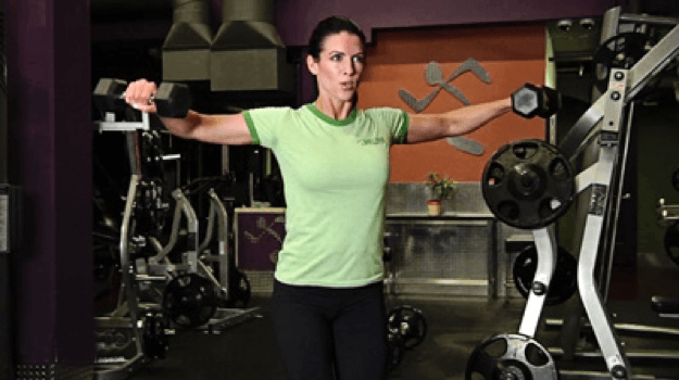 Dumbell Lat Raises