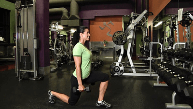 Dumbell Lunges20sec